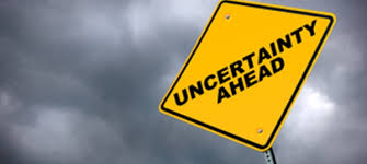 The Only Certainty is Uncertainty! 1